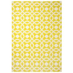 Threshold™ Indoor/Outdoor Area Rug - Yellow--love the color. Maybe use for small group rugs or for in the park room