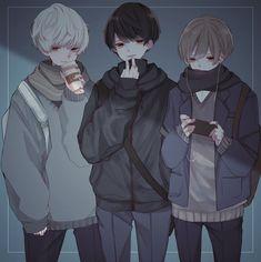Dark Anime, Yandere Anime, Manga Anime, Fille Anime Cool, Regard Animal, Anime Boy Zeichnung, Anime Siblings, Anime Friendship, Cool Anime Guys
