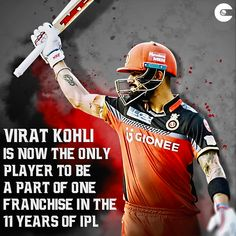 With Harbhajan Singh going to Chennai Super Kings, Virat Kohli has become the only cricketer to be a part of one franchise since the inception of IPL. Live Cricket, Cricket Match, Ipl Cricket Games, Virat Kohli Quotes, Funny True Facts, Virat Kohli Wallpapers, Virat And Anushka, Cricket Wallpapers, Ab De Villiers