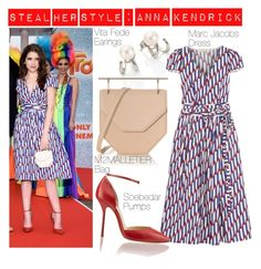 """""""Steal Her Style : Anna Kendrick At Cannes Festival"""" by fattie-zara ❤ liked on Polyvore featuring cannes and annqkendrick"""