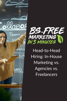 BS Free Marketing - Head-To-Head Hiring: In-House Marketing vs. Social Media Marketing, Digital Marketing, Free Market, Management, Business, House, Home, Store, Business Illustration