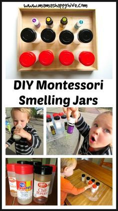 Montessori Inspired Five Senses Activities - Mama's Happy Hive