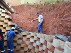 The power of storm water We do various types of building related insurance work. Today we were called out to re-build a retaining wall that had collapsed due to storm water damage. www.kznprop.co.za 0315643855 Building A Retaining Wall, Water Damage, Work Today, Wood, Woodwind Instrument, Timber Wood, Trees