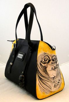 Handmade Tattoo Bag: Pawn Tattooed (Thinking Beauty)