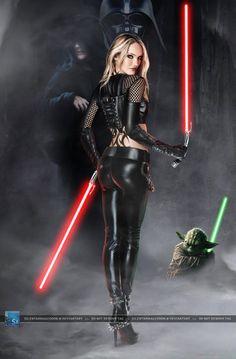 Star Wars: Mistress of the Sith - Darth Angelus by SilentArmageddon.deviantart.com on @DeviantArt