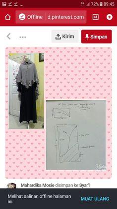 African Fashion Dresses, Hijab Fashion, Pola Rok, Abaya Pattern, Jeans Bleu, Dress Sewing Patterns, Turban, Sewing Crafts, Handmade Flowers