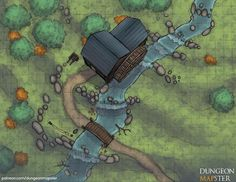 The Old Mill : battlemaps