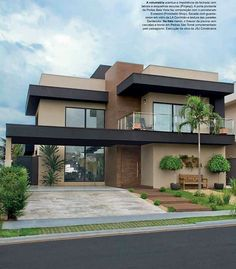 Best House Modern Family Ideas house is part of Facade house - Modern House Facades, Modern Architecture House, Modern House Plans, Architecture Design, Architecture Colleges, Modern Family House, California Architecture, Roman Architecture, Amazing Architecture
