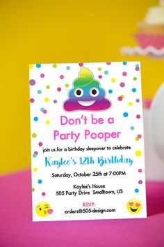 Emoji Birthday Party Ideas For The Best EVER