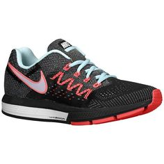 hot sale online 23903 263da Nike Air Zoom Vomero 10 Womens Ice WhiteBlackHot Lava Running Sneakers WIDE  -- Visit the image link more details.