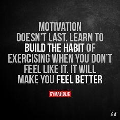 """좋아요 831개, 댓글 17개 - Instagram의 Gymaholic(@gymaholic_site)님: """"Motivation doesn't last."""""""