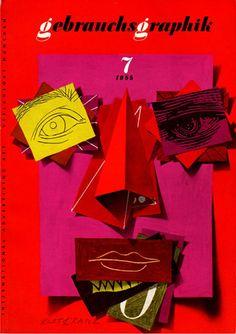 Covers from Gebrauchsgraphik magazine