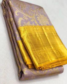 Mysore Silk Saree, Silk Saree Kanchipuram, Kanjivaram Sarees, Pure Silk Sarees, Wedding Silk Saree, Punjabi Wedding, Indian Wedding Outfits, Indian Weddings, Romantic Weddings