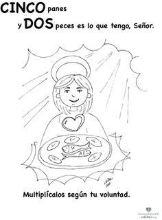 El niño de los cinco panes y dos peces. www.evangelizacioncatolica.com