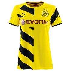 2014/15 Dortmund Women Home Soccer Jersey shirt