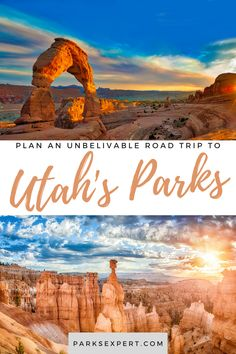 This post includes the ultimate itinerary for a Utah national parks road trip, including the mighty 5: Arches, Bryce Canyon, Canyonlands, Capitol Reef, and Zion. Park City Utah, Salt Lake City Utah, Capitol Reef National Park, National Parks, Usa Travel, Travel Tips, Utah Camping, Visit Utah, Canyonlands National Park
