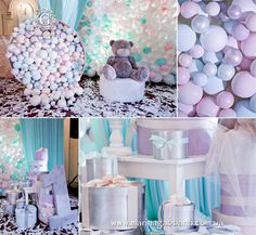 This party decorations were inspired by Guerlain meteorites. It looks like a heaven for girls and little fashionista! Decorated by Marina Gabbana event group