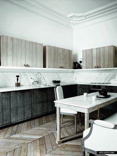Elegant en sierlijk appartement in Parijs   | roomed.nl