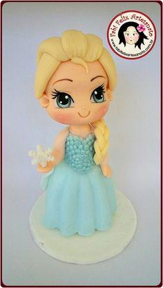 Enfeite de mesa Elsa Frozen