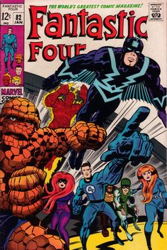 Fantastic Four 82 - Stan Lee and Jack Kirby