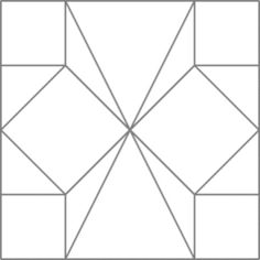 The Butterfly in Angles Block