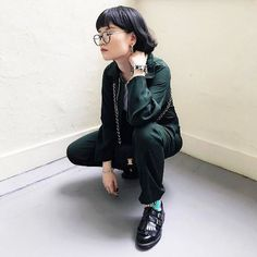 "18.9k Likes, 24 Comments - Dr. Martens (@drmartensofficial) on Instagram: ""Girl in the corner. The Ellaria shoe with fringe detail and premium Arcadia leather corners the…"""