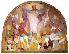 Jacopo Pontormo, Resurrection, 1523-1525,