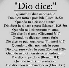 E se Dio lo dice. Motivational Quotes In English, English Quotes, Inspirational Quotes, Gods Not Dead, Smart Quotes, Divine Mercy, Set Me Free, In God We Trust, Some Words