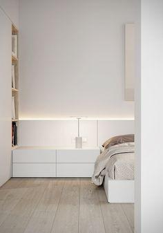 A Minimalist Apartment in Odessa for a Bachelor - Design Milk