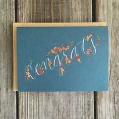 Graduation Card College Graduation Card by ChampaignPaper on Etsy