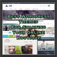 Best theme for starting online boutique. My top picks for wordpress ecommerce themes, and a few tips on how to pick a good one to start up your online boutique