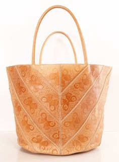 Butterfly Embossed Tote.