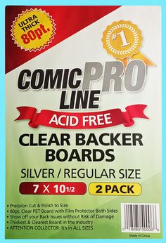 200 Golden Age Comic Book ACID FREE Backing Boards white backers gold Max Pro