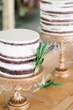 Fresh Faced Cake by PPHG Pastry Chef Jessica Grossman {Anna + Dan 12.28.14} | Aaron & Jillian Photography | www.aaronandjillian.com