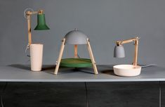 The Lamps on the Table by Daphna Isaacs - Artkitektur