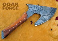 OOAK Custom Forge Sabi hache
