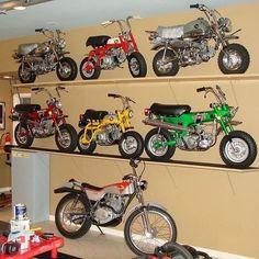Honda Dirt Bike, Honda Bikes, Harley Davidson Night Train, Mini Bike, Motorcross Bike, Vintage Honda Motorcycles, Honda Cub, Moped Scooter, Japanese Motorcycle