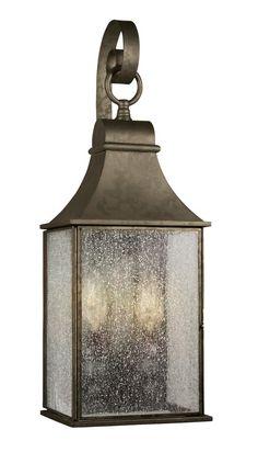 Two Light Wall Lantern