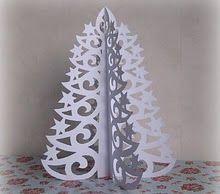 Christmas tree, paper.