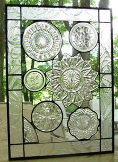 it'd be cool to do this with old plastic dishes...even ones from the party store