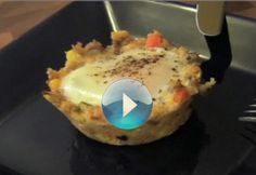 On the morning after Thanksgiving, use your leftover stuffing to make these easy (and impressive) Egg Nests. Watch video below to seehow! Get the recipe: EggNests Got leftover mashed potatoes, too?Click here to see How to Make Potato Bread!