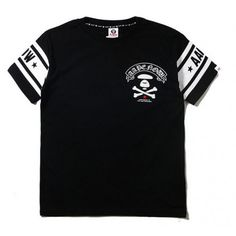 68b55fa1f Not so basic in black of this AAPE Now Cross Bone General T-Shirt http