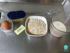 Discover recipes, home ideas, style inspiration and other ideas to try. Greek Yogurt Pancakes, No Flour Pancakes, Gluten Free Pancakes, Oatmeal Pancakes, Vegan Pancake Recipes, Fixate Recipes, Real Food Recipes, Yummy Food, Venezuelan Food