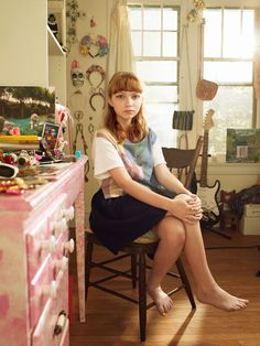 Tavi Gevinson is delightful! I love when famous people not only live up to the hype, but surpass it. (picture by Peter Yang) Rookie Magazine, Tavi Gevinson, Petra Collins, Sexy Feet, Girl Crushes, Role Models, Style Icons, Editorial Fashion, Beautiful People