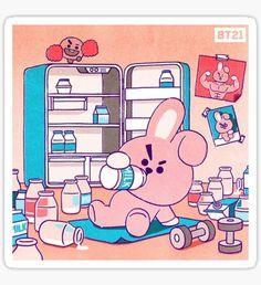 Share your Kpop Fanarts and improve yourself! Kookie Bts, Bts Bangtan Boy, Bts Jungkook, Jungkook Fanart, Bts Anime, Banana Milk, Line Friends, Bts Drawings, Bts Chibi