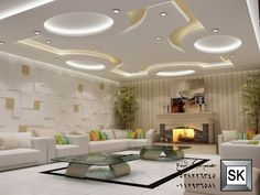 living room lighting tips Drawing Room Ceiling Design, House Ceiling Design, Ceiling Design Living Room, Bedroom False Ceiling Design, False Ceiling Living Room, Home Ceiling, Home Room Design, Ceiling Decor, Living Room Designs