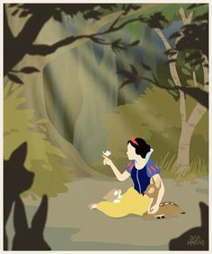 The Artventures of Jeca Martinez : A Smile And A Song Snow White animated GIF