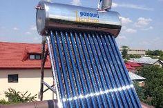 Panou solar apa calda INOX nepresurizat 150 litri - cu vas flotor