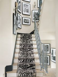 Oh hello, and be welcomes to my zebra hallway.
