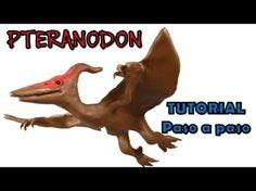 ✅ COMO HACER UN DINOSAURIO PTERANODON DE PLASTILINA ✅ MI MUNDO DE PLASTILINA - MY CLAY WORLD - YouTube